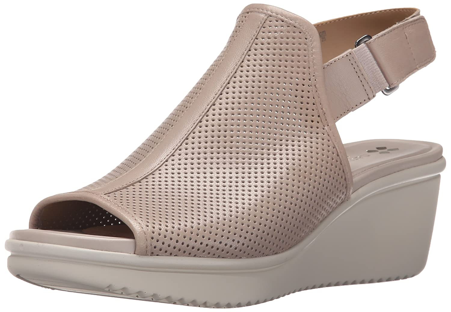 Naturalizer Women's Ardel Wedge Sandal B017ECLKW8 9 W US|Grey