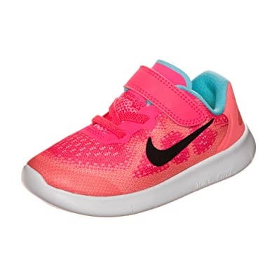 731f53c13a210 Amazon.com  Nike Kids Free RN 2017 Infant Toddler Racer Pink Black Lava  Glow Pure Platinum Girls Shoes  Shoes