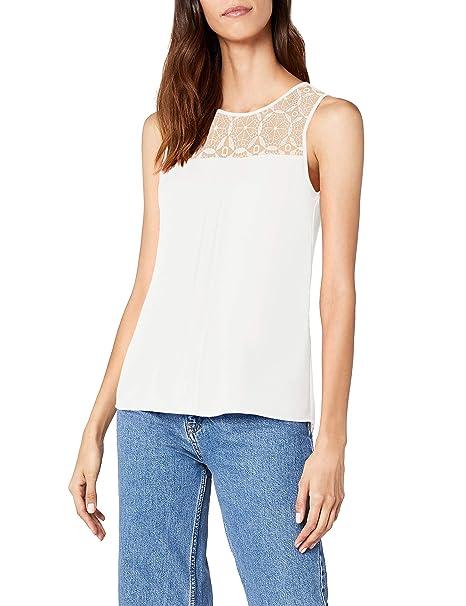 Only Onlvenice S/L Lace Top Noos Wvn, Camiseta sin Mangas para Mujer: Amazon.es: Ropa y accesorios