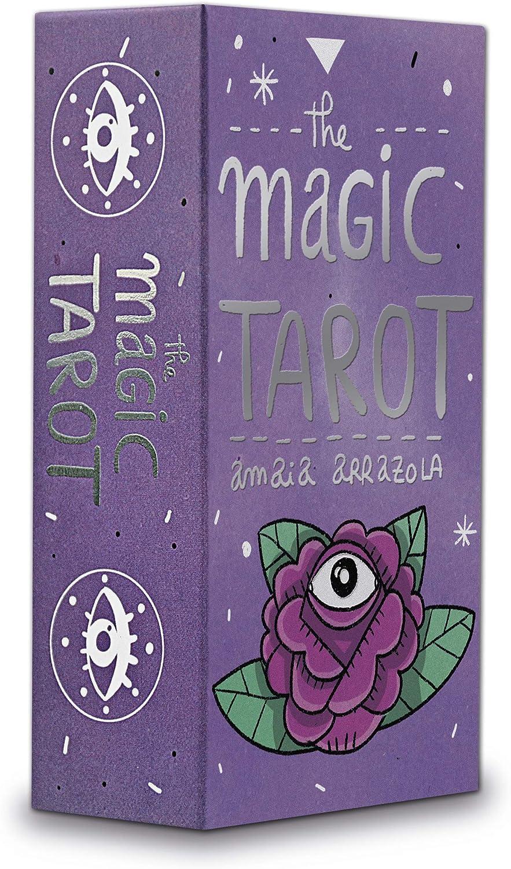 Fournier Magic by Amaia Arrazola Baraja de Cartas del Tarot de Coleccion, Multicolor (1040725): Amazon.es: Juguetes y juegos