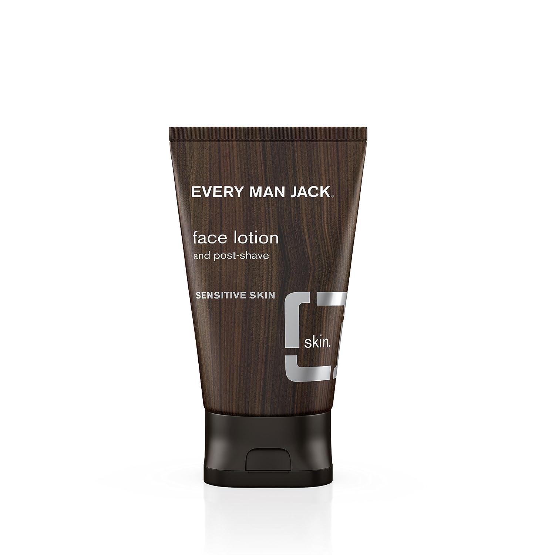 Every Man Jack Face Lotion, Fragrance Free, 4.2 Fluid Ounce Everyman Jack 91305