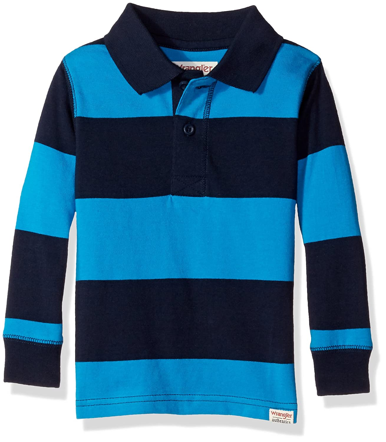 54f72d783268 Top15: Wrangler Authentics Infant & Toddler Baby Boys' Long Sleeve Knit Polo