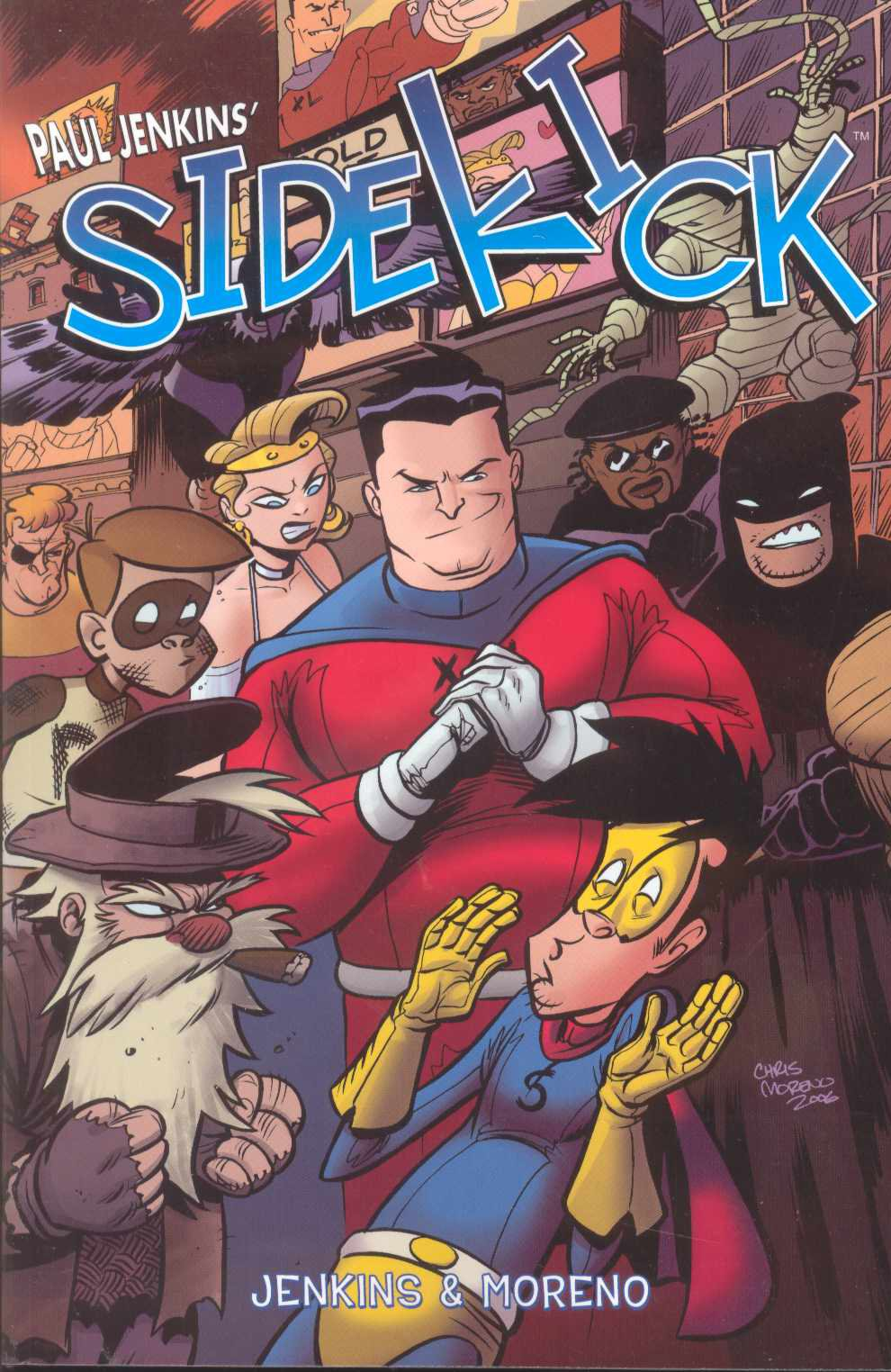 Read Online Paul Jenkins Sidekick Volume 1 (v. 1) pdf epub
