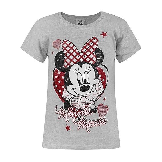 Minnie Mouse T Shirt Design   Disney Disney Minnie Mouse Kinder Madchen Official Retro Design T