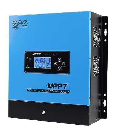 Amazon.com: Ampinvt MPPT - Controlador solar para batería de ...