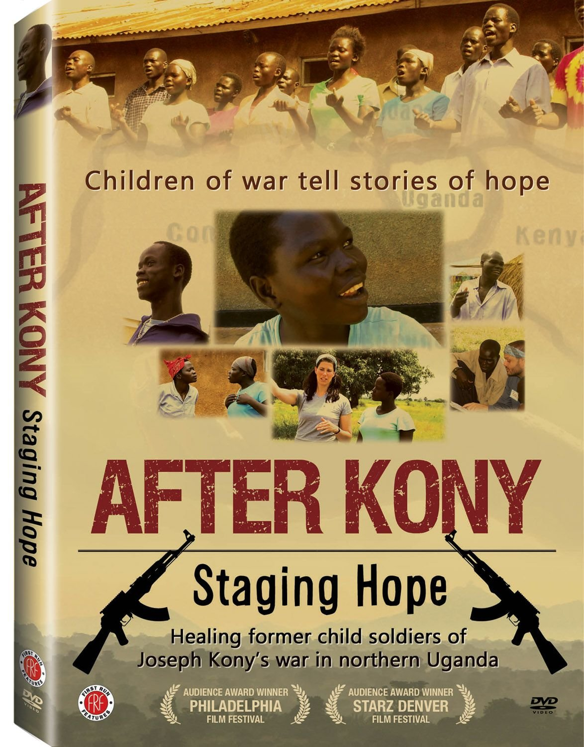 DVD : Melissa Fitzgerald - After Kony: Staging Hope (Subtitled, Widescreen)