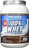 Body Attack 100% Whey Protein, Schokolade, 1er Pack (1x 900g)