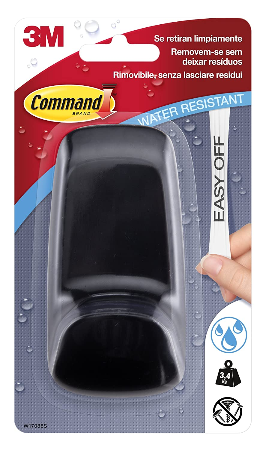 Command UU001567435 Giant Hook with Water-Resistant Strips 3M W1788Q