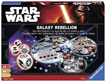 Star Wars Star Wars-26665 Juego de Mesa, 8 a&ntildeos (Ravensburger 26665 4