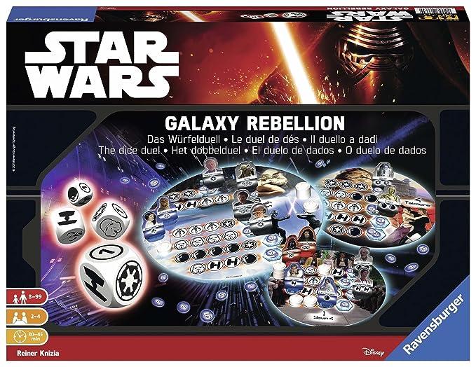 150 opinioni per Ravensburger 26665- Star Wars Galaxy Rebellion Il Duello a Dadi