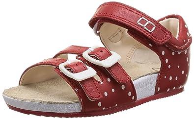 86e3a5f193c Clarks Baby Girls  Bundle Joy Fst Walking Baby Shoes Red Size  3.5 ...