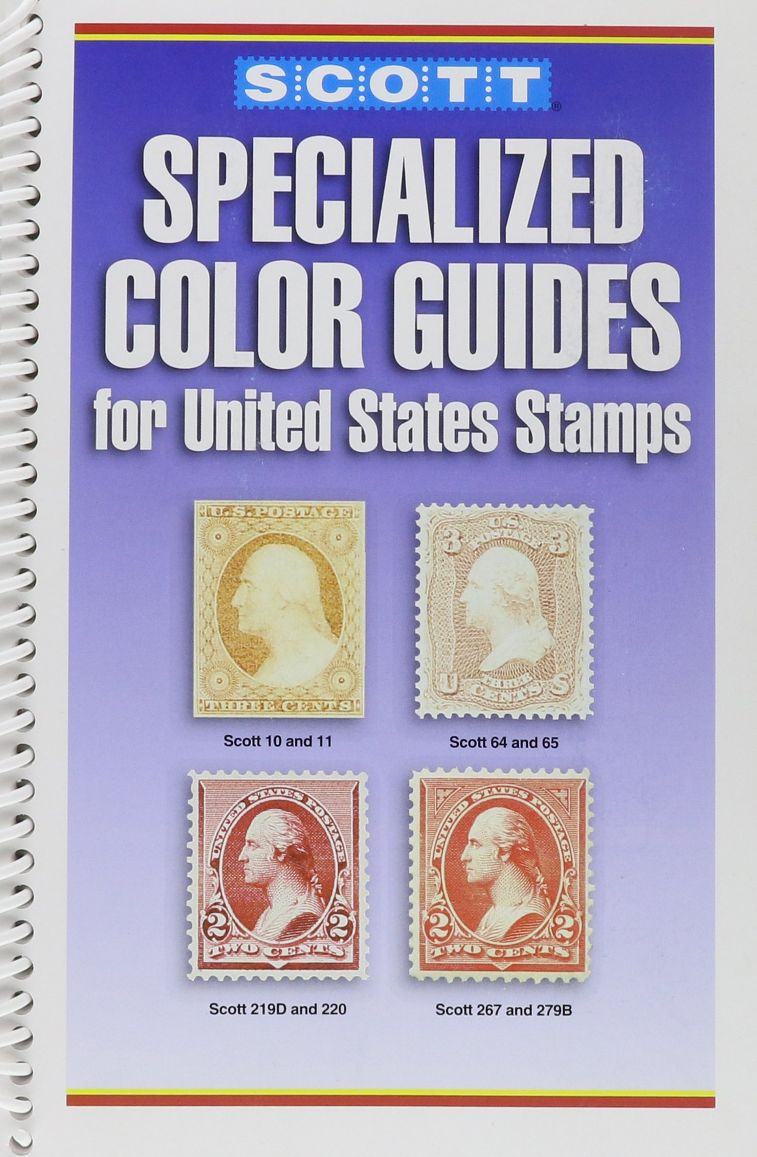 Scotts Specialized Color Guide For United States Stamps 9780894873737 Books