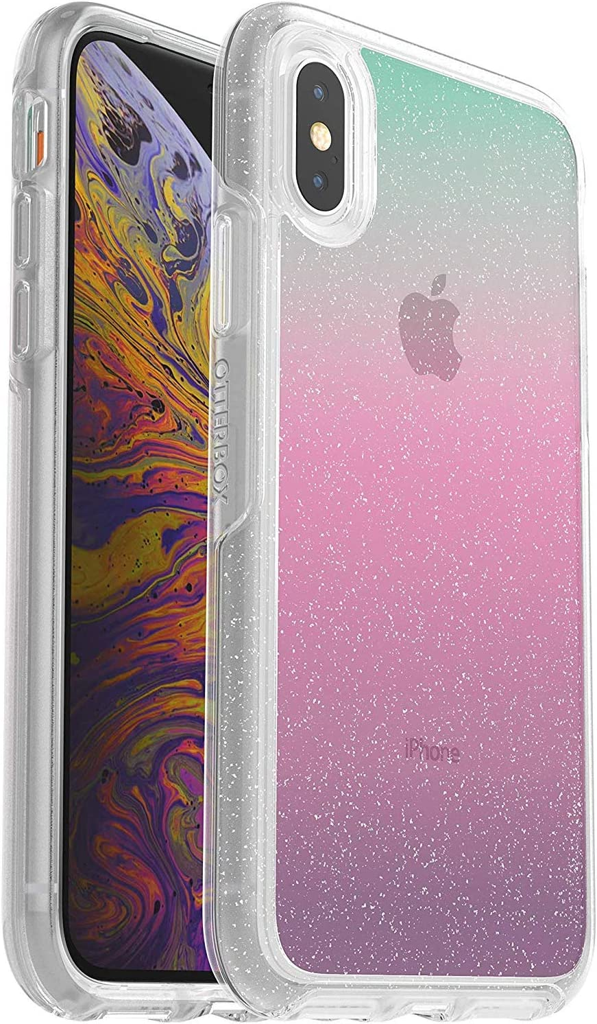 OtterBox Symmetry Series Case for iPhone Xs & iPhone X - Bulk Packaging - Gradient Energy