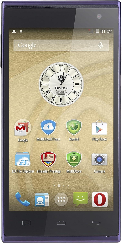 Prestigio PSP5455-Duo-Blue - Smartphone Libre Android (Pantalla ...