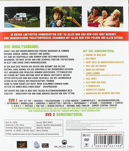 New Kids - Prolledition Limitierte 2 Disc Sonderedition mit New Kids Unterschriften und Vokuhila-Perücke, exklusiv bei Amazon.de Alemania DVD: Amazon.es: ...