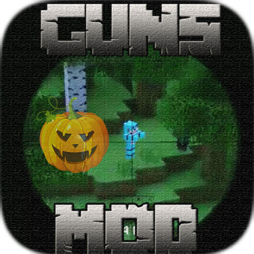 Gun Mod Top World for MCPE Full Set New Halloween -