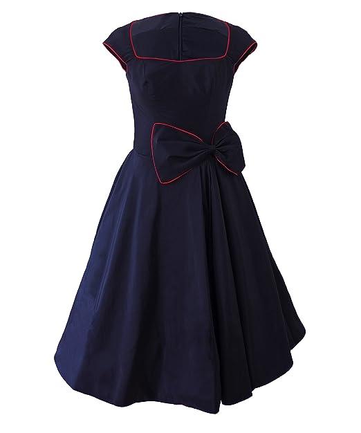 Milk Moon Vintage Retro de 1950s en voladizo estilo e instrucciones para hacer vestidos
