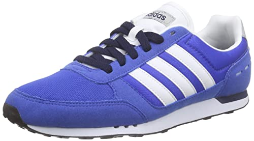 sale retailer db5bb 3092a adidas Neo City Racer, Zapatillas Deportivas Unisex, (Azul Ftwbla Maruni),  44 2 3 EU  Amazon.es  Zapatos y complementos