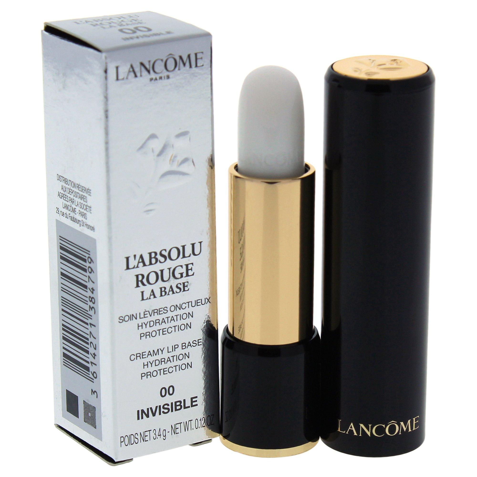 Lancome L' Absolu Rouge La Base Creamy Lip Base, No. 00 Invisible, 0.12 Ounce