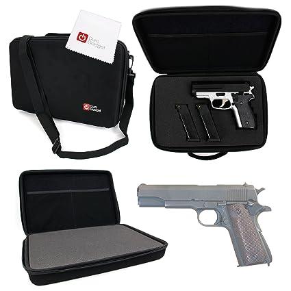 Amazon.com: DURAGADGET – Funda de pistola Colt M1911 Storage ...