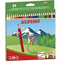 Alpino AL010658 - Estuche 24 lápices, multicolor