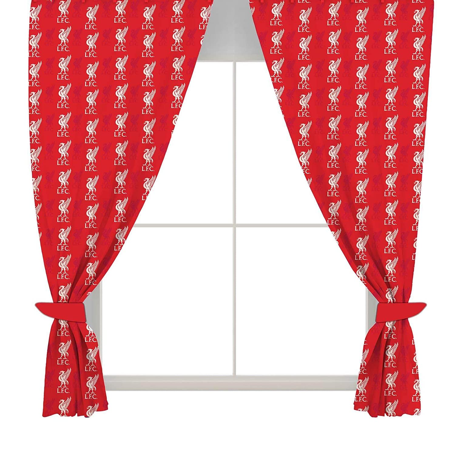 Liverpool FC Crest Curtains - 54\