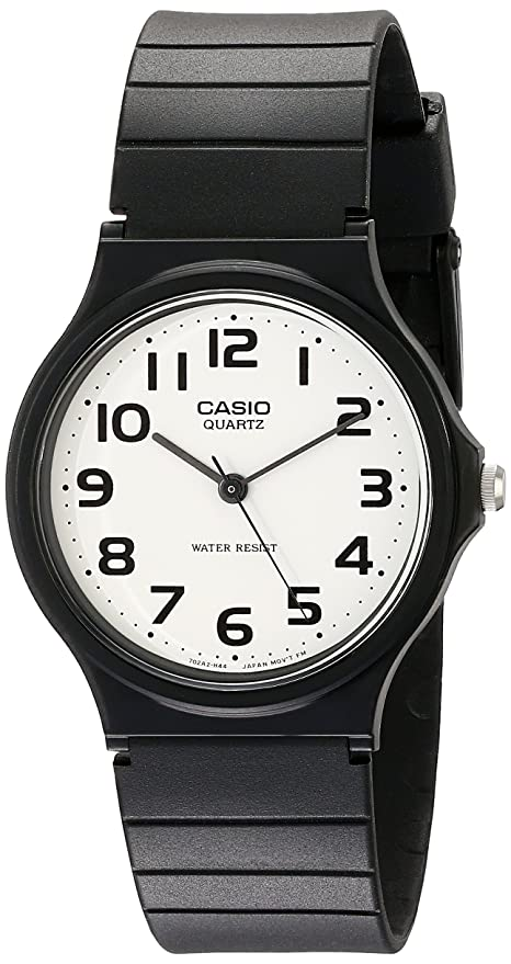 3411149251a Amazon.com  Casio Men s MQ24-7B2 Analog Watch with Black Resin Band  Watches