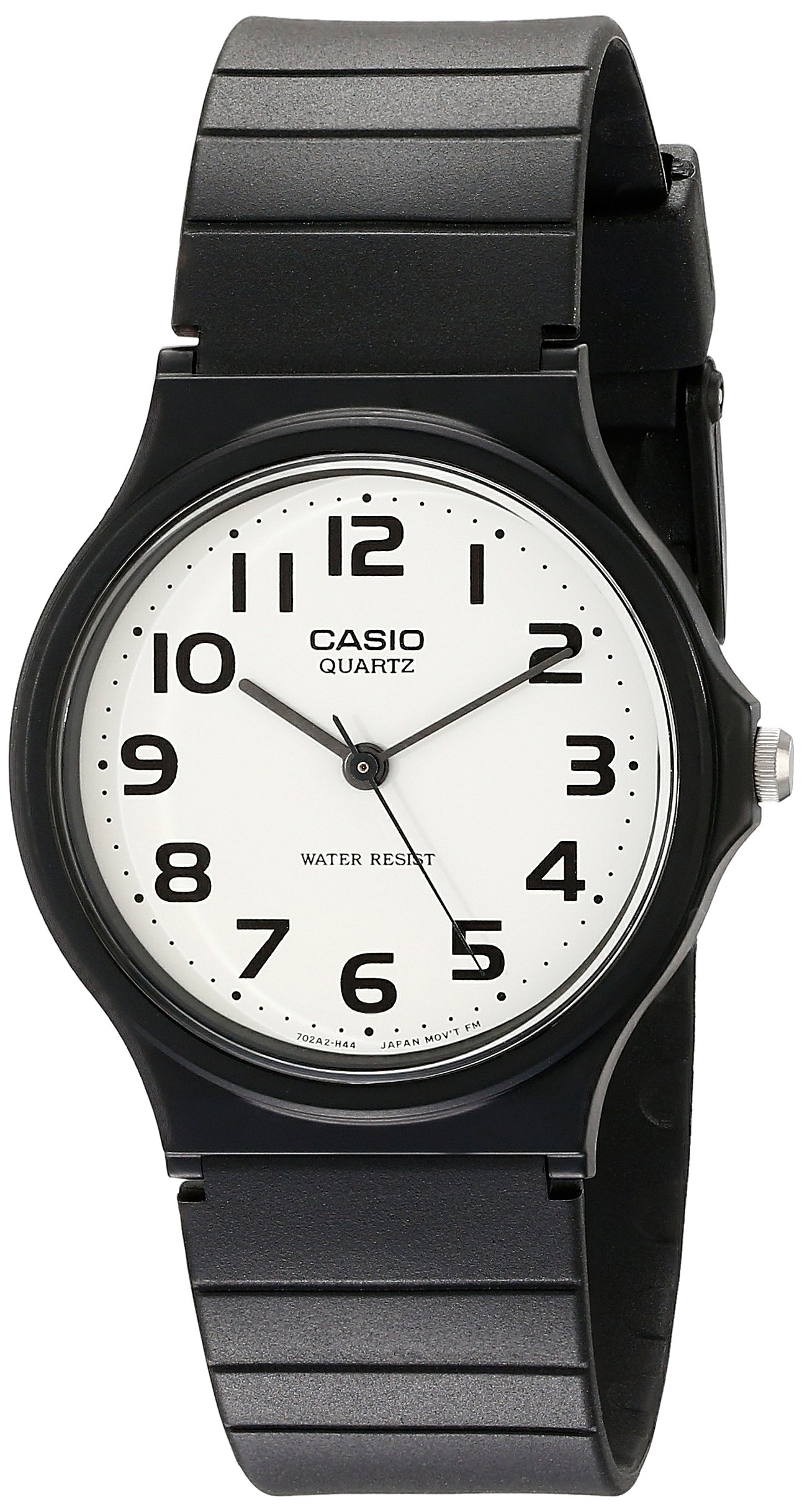 Casio Men's MQ24-7B2 Analog Watch with Black Resin Band by Casio
