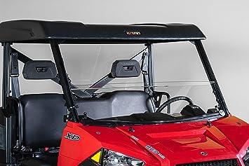 "Polaris Ranger Mid Size 570 Full UTV Windshield 3//16/"" Pro Fit Cage Model 2015"