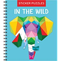 Sticker Puzzles: In the Wild (Brain Games - Sticker by Letter)