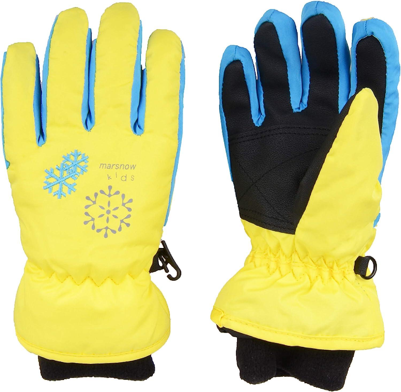 TRIWONDER Kids Ski Snow Gloves Winter Cold Weather Windproof Warm Snowboard Sport Mittens for Boys Girls : Sports & Outdoors