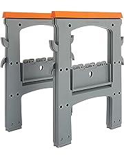AmazonBasics Folding Sawhorse - 900lb - 2-Pack