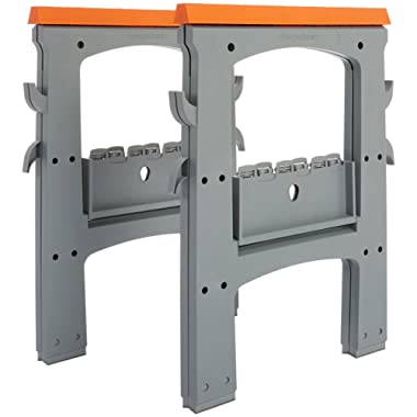 AmazonBasics Folding Sawhorse - 900lb - 2-Pack