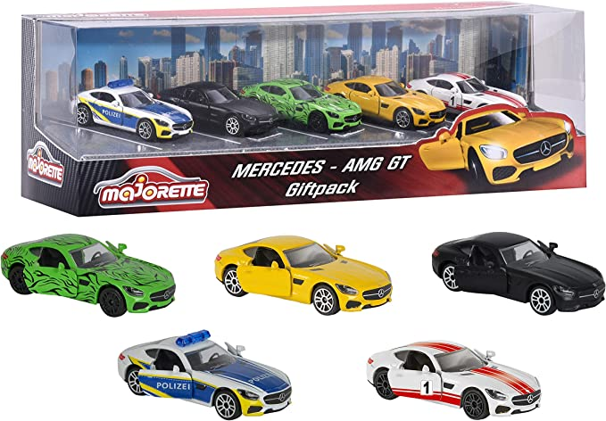 Majorette 212053163 – Mercedes AMG Gift Pack, vehículos en ...