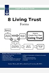 8 Living Trust Forms: Legal Self-Help Guide Kindle Edition