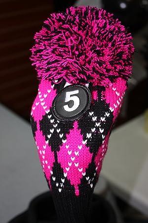 majek # 5 híbrido rescate utilidad Argyle rosa y negro para ...