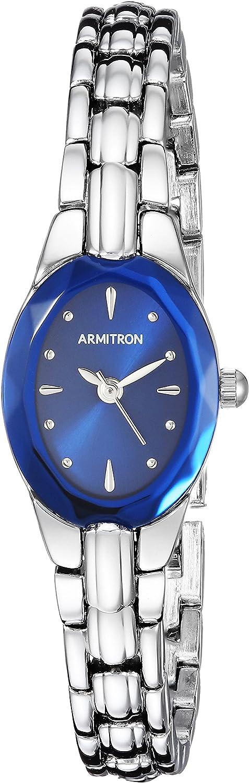 Armitron Women's 75/3313BLSV Sapphire Blue and Silver-Tone Bracelet Watch
