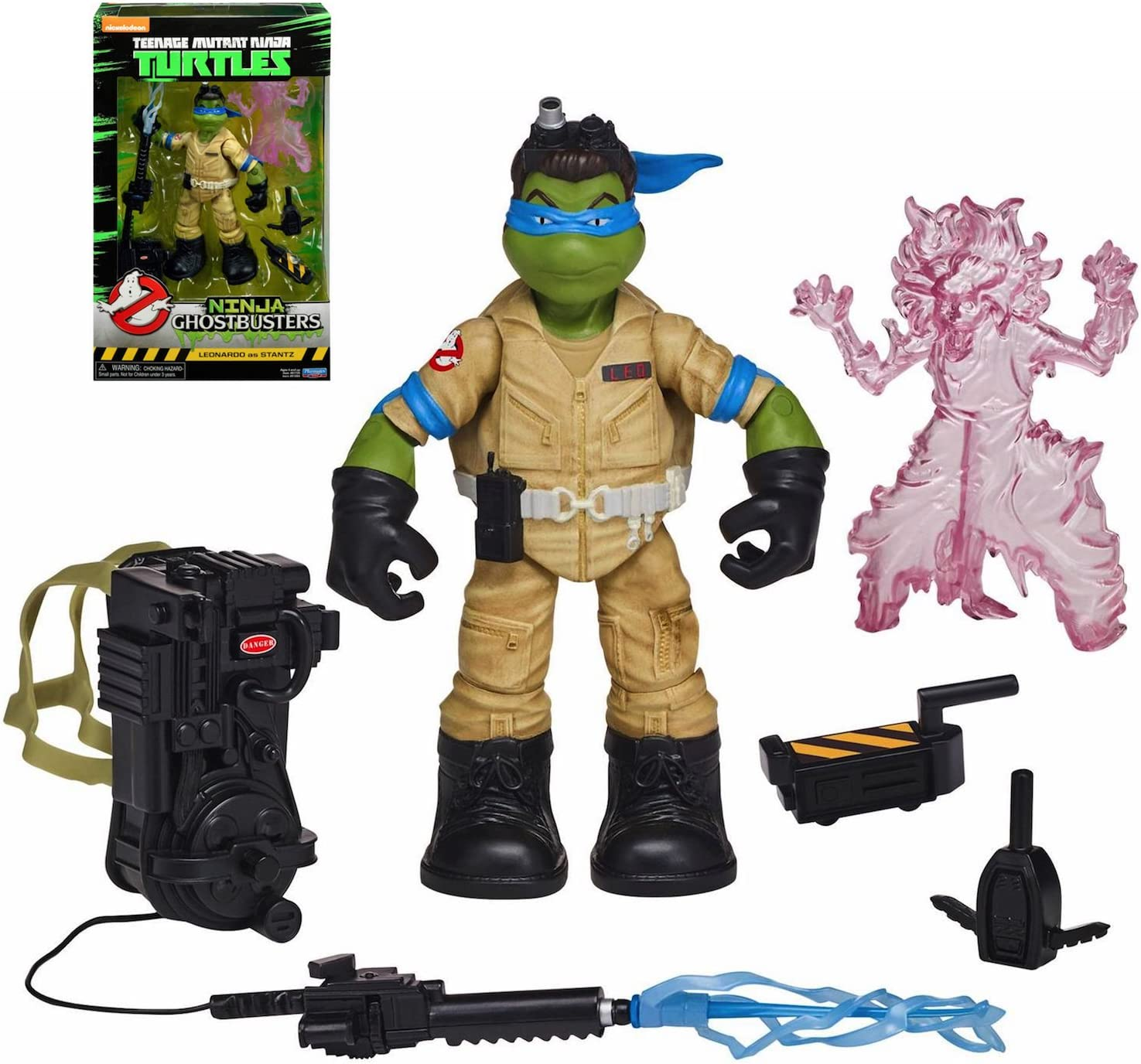 Ninja Ghostbusters Leonardo as Stanz Action Figure 6