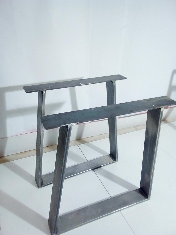 *1* coppia Gambe per tavolo ferro grezzo Steel Legs