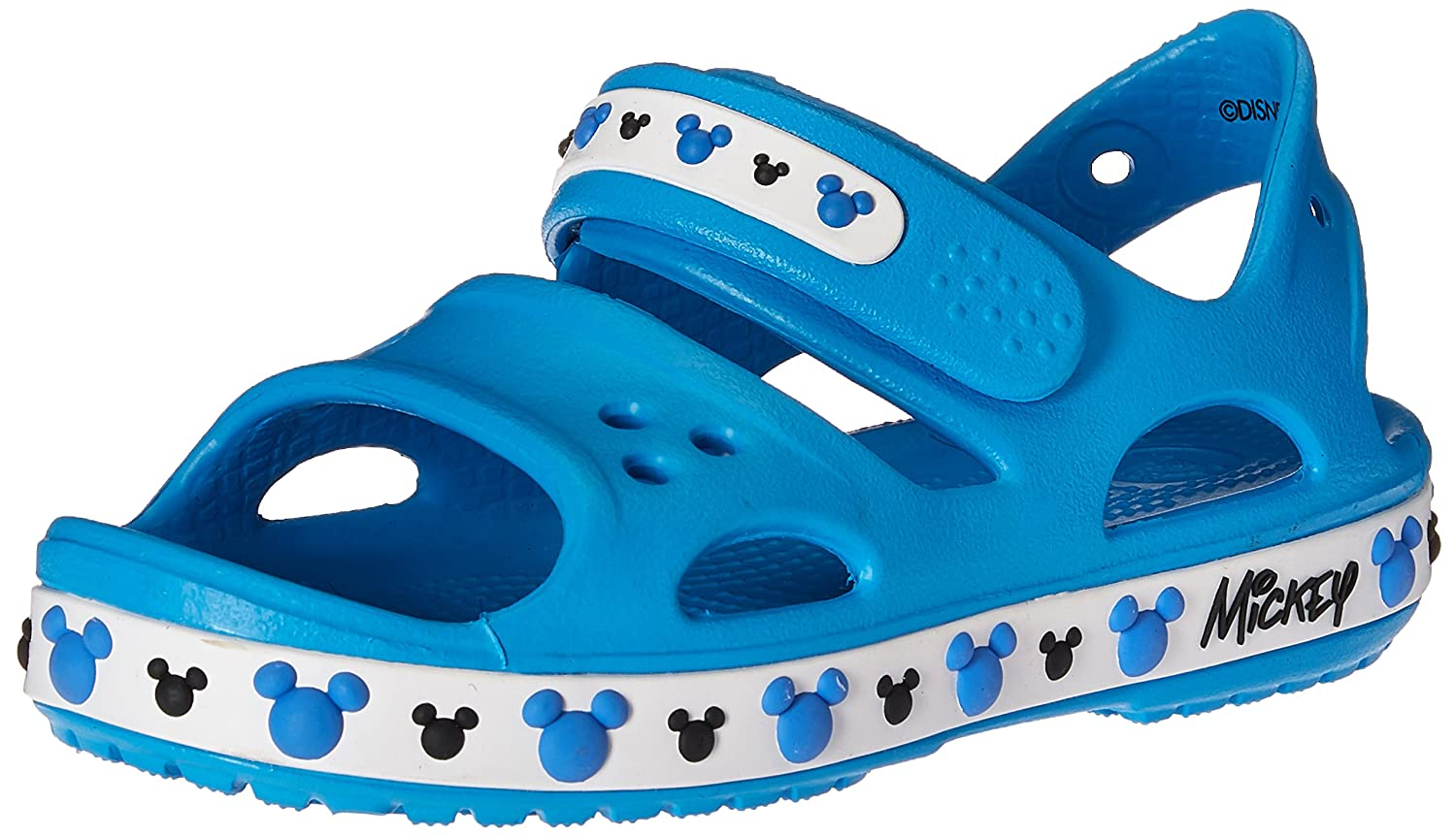 Crocs Crocband II Mickey PS Sandal (Toddler/Little Kid)