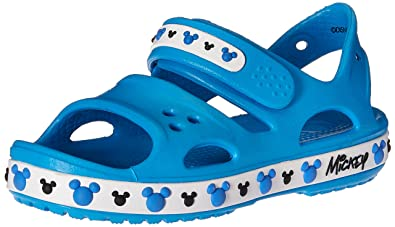 5e3a2b37f21af crocs Crocband II Mickey PS Sandal (Toddler Little Kid)