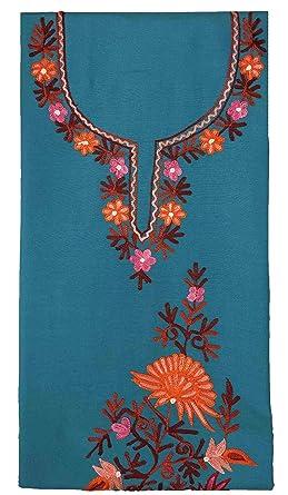 Varun Cloth House Women S Cotton Kashmiri Aari Embroidery Dress
