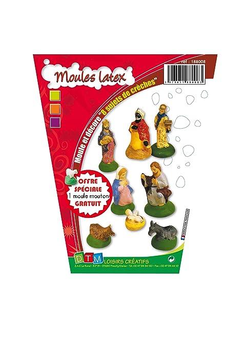Crea de modo simple las figuras para tu Belén/nacimiento con estos moldes.