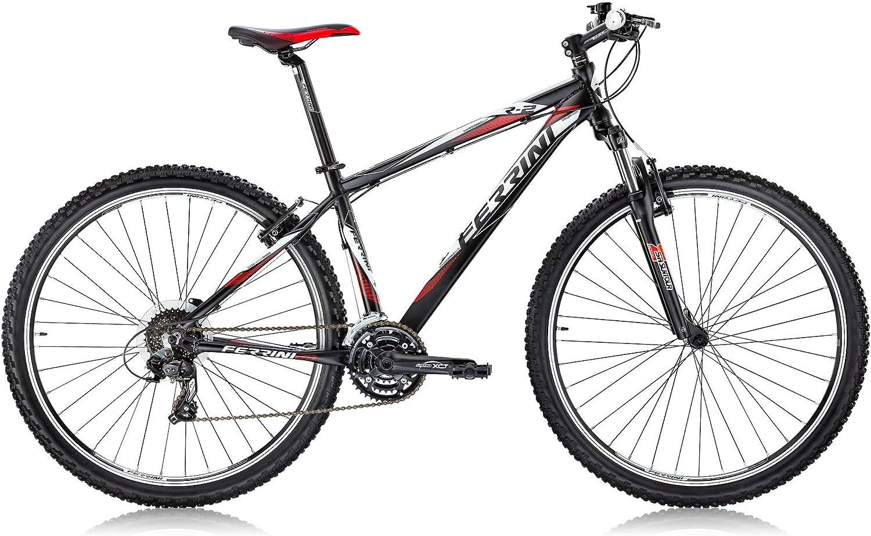 FERRINI R2 Bicicleta de montaña de Hombre, Shimano 24 velocidades ...