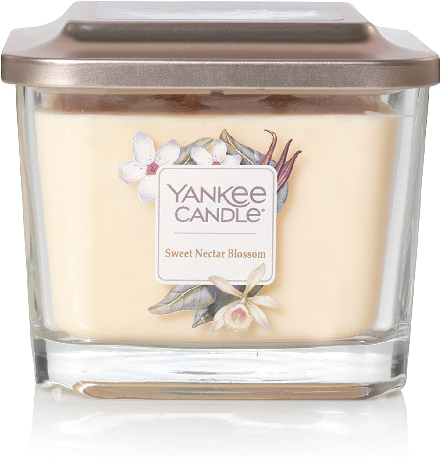 Yankee Candle Company Elevation Collection with Platform Lid, Medium 3-Wick Candle