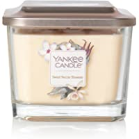 Yankee Candle Elevation 3-Wick Square Candle, Medium, Sweet Nectar Blossom