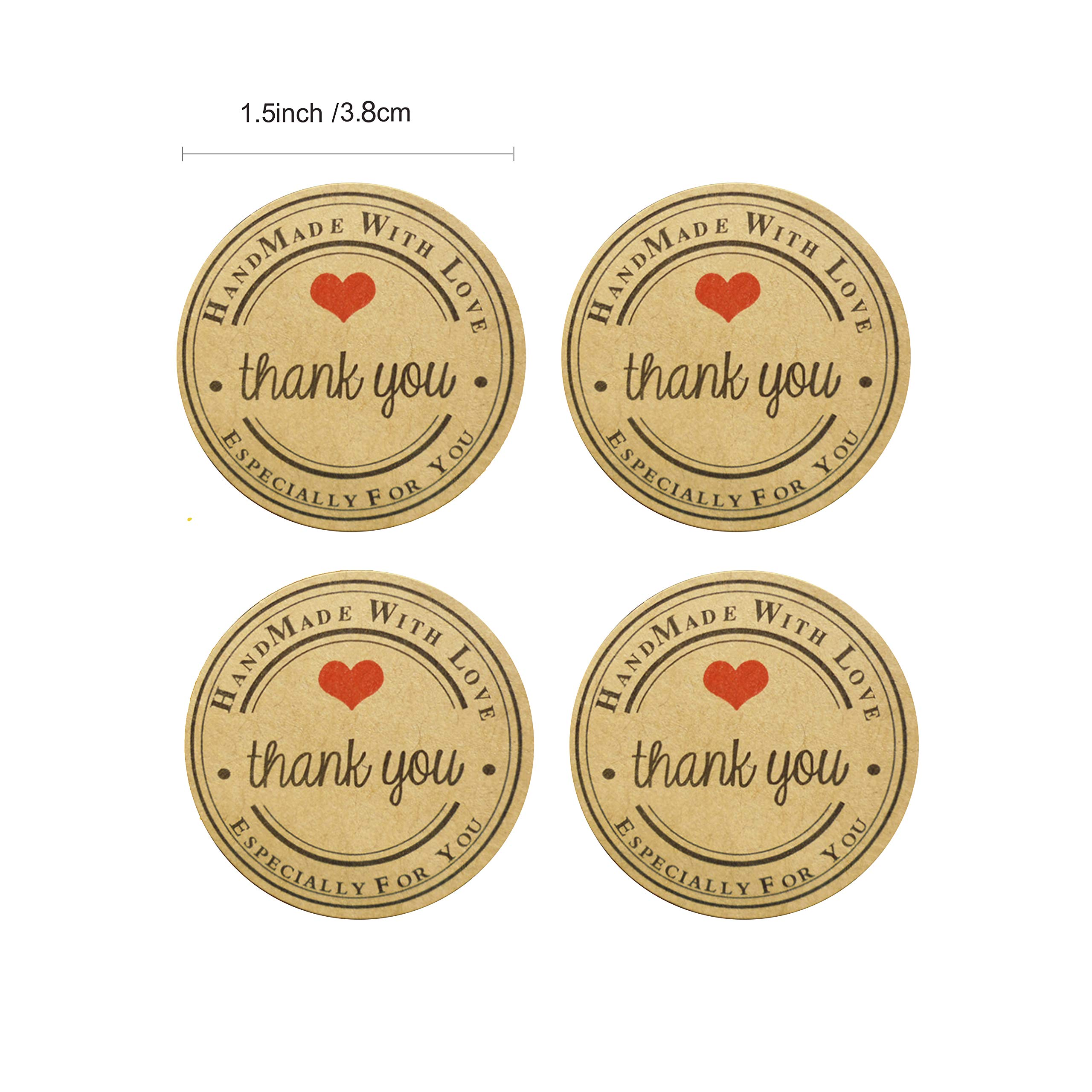 Wonderful thank you stickers