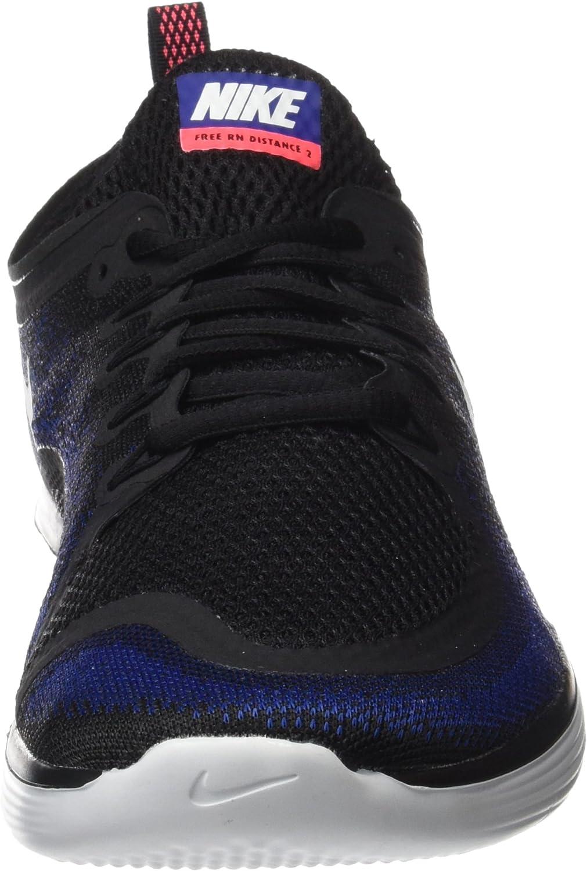 Nike Free RN Distance 2, Zapatillas de Running para Hombre, Multicolor (Black/White/Deep Royal Blue/Hot Punch), 44.5 EU: Amazon.es: Zapatos y complementos