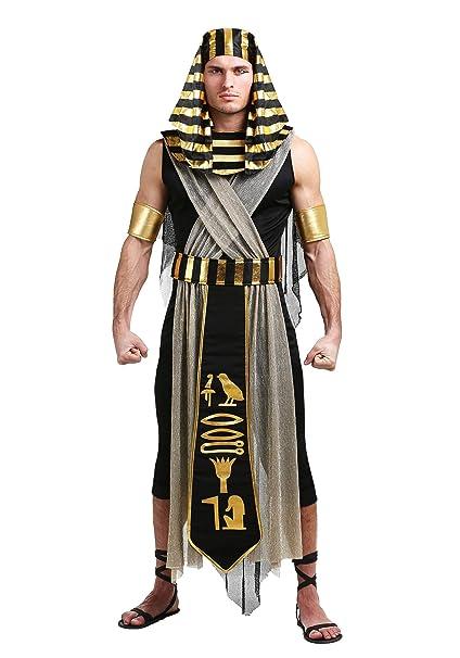 Amazon.com: Disfraz de faraón egipcio para hombre: Clothing