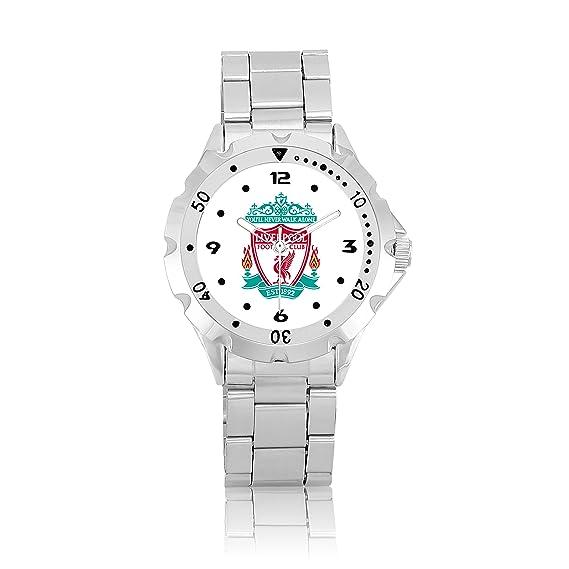Bisel Giratorio Sport reloj de muñeca para Liverpool Blanco